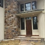 natural stone masonry exterior on a home