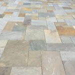 natural stonework patio