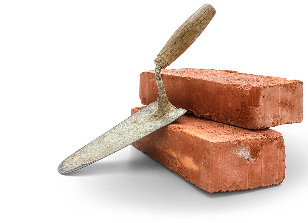 bricks for hardscape masonry