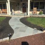 stone paver pathway